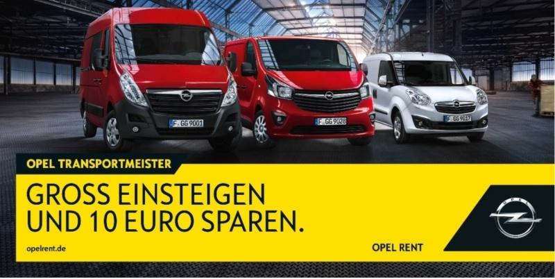 Opel Rent die Autovermietung