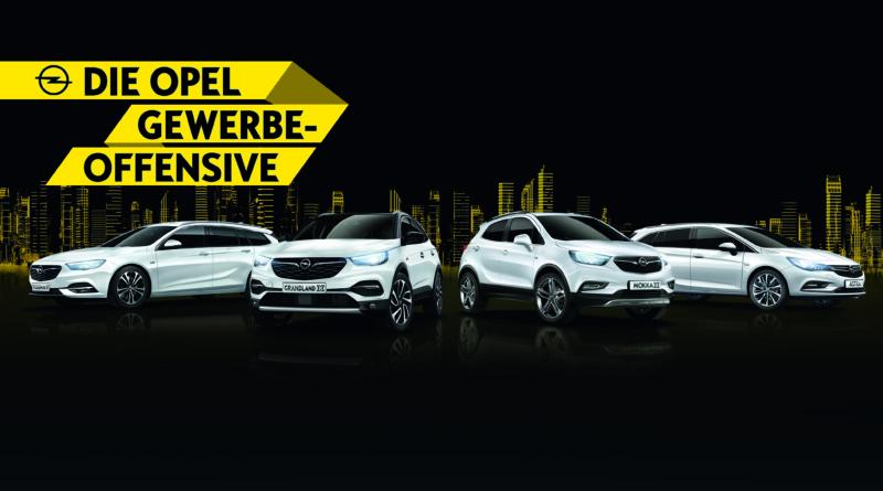 Opel Gewerbe-Offensive